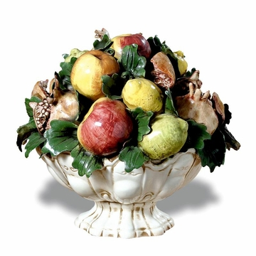 Intrada Italy Footed Fruit Bowl Centerpiece 14''H x 15''W