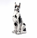 "Intrada Italy Great Dane Statue 25""H"