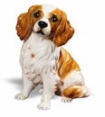 Intrada Italy King Charles Spaniel Statue