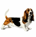 Intrada Italy Large Basset Hound Dog Statue