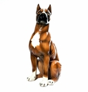 Intrada Italy Large Boxer Standing Dog Statue