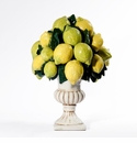 "Intrada Italy Lemon Footed Vase 15.5""H"