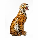 "Intrada Italy Leopard Statue 24""H"