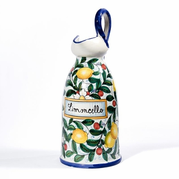 Intrada Italy Limoncello Pitcher with Large Handle 21''H