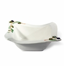 Intrada Italy Olive Bowl Wave 9""