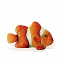 Intrada Italy Orange Clown Fish with Stripes (Nemo) Figurine