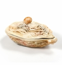 """Intrada Italy Oyster Box 8""""L"""