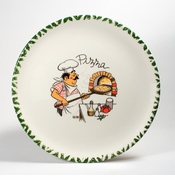 Intrada Italy Pizza Plates