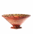 Intrada Italy Pompei Bowl Cora Red 16""