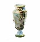 "Intrada Italy Pot with Flower 15.5""H x 11""D"