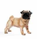 Intrada Italy Pug Standing Dog Statue