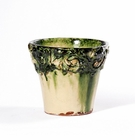 "Intrada Italy Small Planter Green 5""H x 5.25""D"