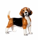 Intrada Italy Standing Beagle Dog Statue