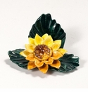 """Intrada Italy Sunflower Place Marker 4""""L x 2""""H Set of 4"""
