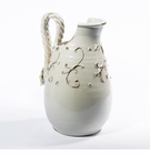 Intrada Italy Terrazza Antique White Pitcher