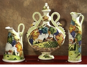 Intrada Italy Toscana Majolica Collection