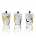 Intrada Italy Vivere Estate Set of 3 Square Canisters
