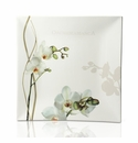 Intrada Italy Vivere Orchid Square Tray