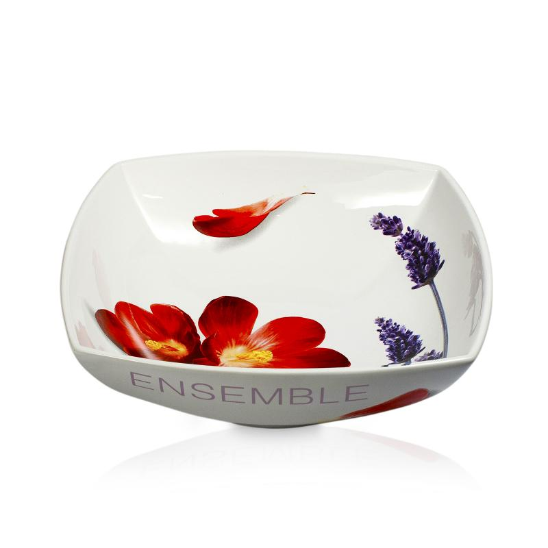 Poppy Hill Tuscan Kitchen: Intrada Italy Vivere Poppy Square Salad Bowl