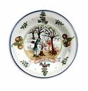 """Intrada Italy Wall Plate Winter 14.5""""D"""