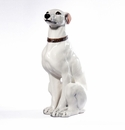 "Intrada Italy White Greyhound 24""H Statue"
