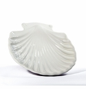 "Intrada Italy White Small Shell Bowl 11.5""D Set of 4"