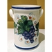 """Intrada Italy Wine Cooler Grapes 8"""" H x 4 1 2"""" W"""
