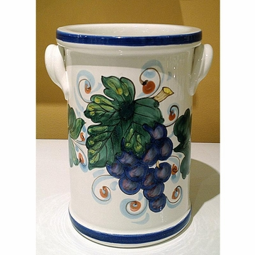 Intrada Italy Wine Cooler Grapes 8'' H x 4 1 2'' W