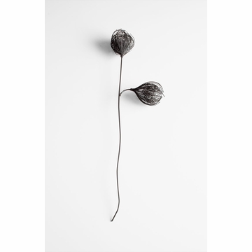 Iron Double Flower Decor by Cyan Design