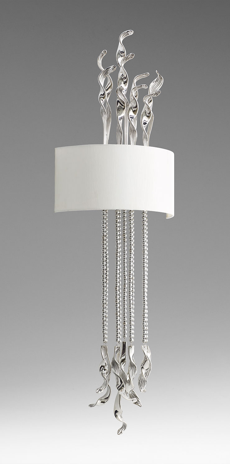 Islet Wall Sconce Chrome by Cyan Design