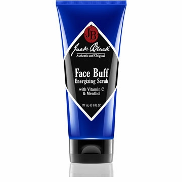 Jack Black Men's Face Buff Energizing Scrub, 6 oz