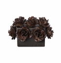 Jan Barboglio Flores Box with Forged Iron Roses