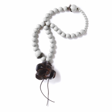 Jan Barboglio Guadalupe White Blessing Beads