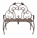 Jan Barboglio Paloma Outdoor Bench