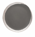 Jars Reflets D' Argent Anthracite Small Plate 7.87""
