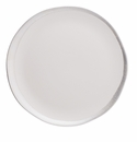 Jars Reflets D' Argent Blanc Small Plate 7.87""