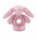 Jellycat Bashful Bunny Tulip Ring Rattle