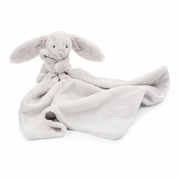 Jellycat Bashful Grey Bunny Soother Stuffed Toy