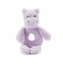 Jellycat Bashful Hippo Ring Rattle