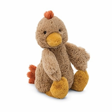 Jellycat Bashful Rooster Small Stuffed Toy