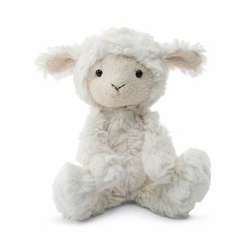 Jellycat Squiggle Lamb Small Soft Stuffed Animal Baby Gift