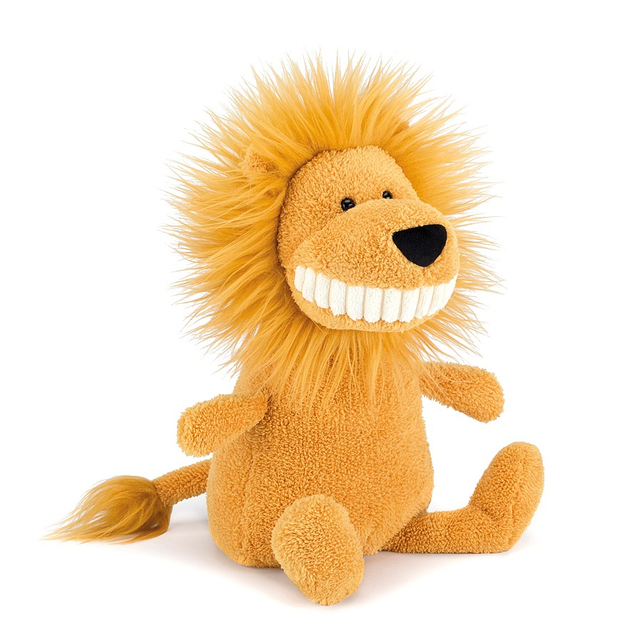 Stuffed Animal Toys : Jellycat toothie lion large stuffed toy