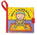 Jellycat Where Is My Belly Button Book