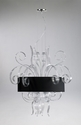 Jellyfish Clear Glass Large Pendant Light by Cyan Design