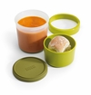 Joseph Joseph Go Eat 2 In 1 Soup Pot - Green