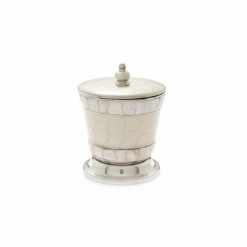 Julia Knight Classic 5.5'' Covered Canister Snow