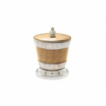Julia Knight Classic 5.5'' Covered Canister Toffee