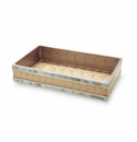 """Julia Knight Classic 9"""" Guest Towel Tray Toffee"""