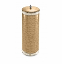 Julia Knight Classic Toilet Tissue Covered Holder Toffee