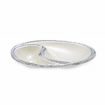 Julia Knight Florentine 13'' Yin Yang Bowl Snow